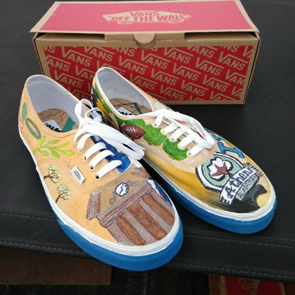 1e9047b70393 Custom Painted Vans
